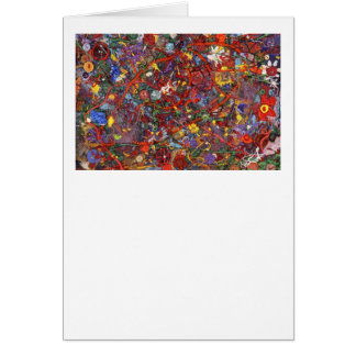Abstract - Fabric Paint - Sanity Cards