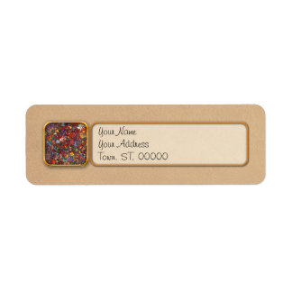 Abstract - Fabric Paint - Sanity Custom Return Address Labels