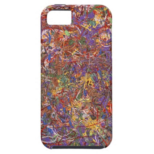 Abstract - Fabric Paint - String Theory iPhone 5 Covers