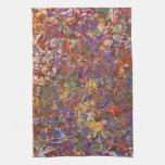 Abstract - Fabric Paint - String Theory Hand Towel