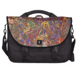 Abstract - Fabric Paint - String Theory Commuter Bag