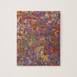 Abstract - Fabric Paint - String Theory Jigsaw Puzzles
