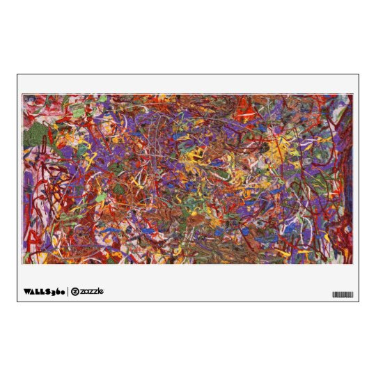 Abstract - Fabric Paint - String Theory Wall Decal
