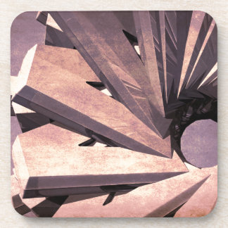 Abstract Fabrication Beverage Coasters