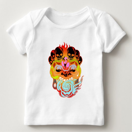 Abstract Face Baby T-Shirt