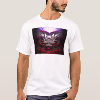 Abstract face in red T-Shirt