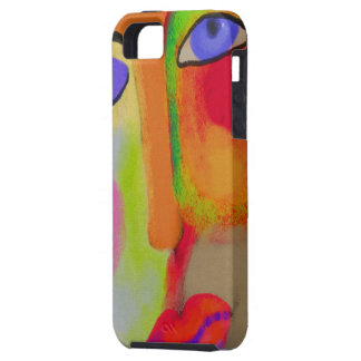 Abstract Face iPhone 5 Cover