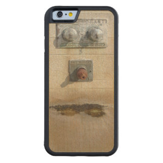 Abstract - Face - Just goofing off Carved Maple iPhone 6 Bumper Case