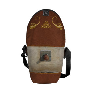 Abstract - Face - Just goofing off Courier Bag