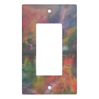 abstract faceplate light switch cover