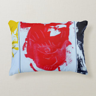 Abstract Faces Accent Pillow