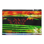 Abstract Fairground Light Painting Travel Accessory Bag