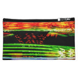Abstract Fairground Light Painting Cosmetic Bag