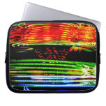 Abstract Fairground Light Painting Laptop Sleeves