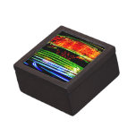 Abstract Fairground Light Painting Premium Jewelry Boxes