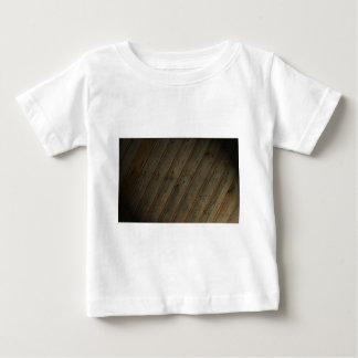 Abstract Fake Wood Grain Baby T-Shirt