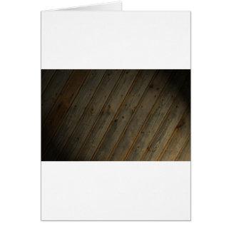 Abstract Fake Wood Grain Card
