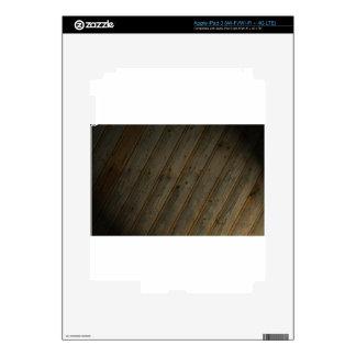 Abstract Fake Wood Grain iPad 3 Skins