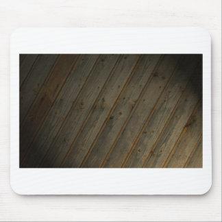 Abstract Fake Wood Grain Mouse Pad
