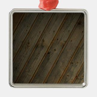 Abstract Fake Wood Grain Ornaments