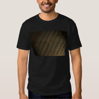 Abstract Fake Wood Grain Shirt