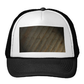 Abstract Fake Wood Grain Trucker Hat
