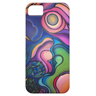 Abstract Family Painting iPhone SE/5/5s Case
