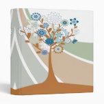 Abstract Family Tree Genealogy Binder Vinyl Binders