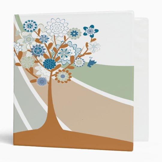 Abstract Family Tree Genealogy Binder