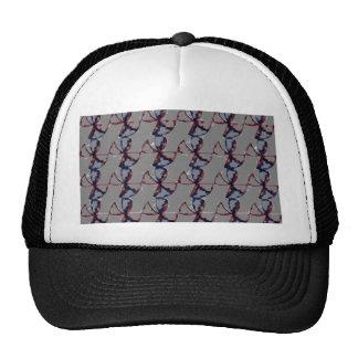 Abstract  fan pencil trucker hat