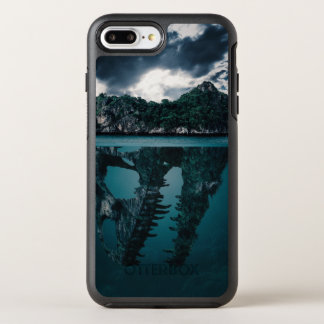 Abstract Fantasy Artistic Island OtterBox Symmetry iPhone 7 Plus Case