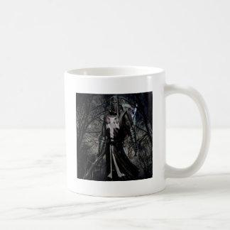 Abstract Fantasy Black Knight Plague Coffee Mug