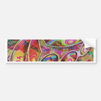 abstract fantasy, bumper sticker