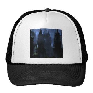 Abstract Fantasy Dark Kingdom Hell Trucker Hat