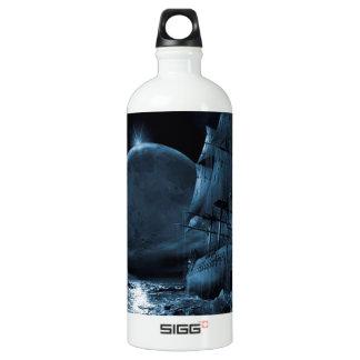 Abstract Fantasy Dark Ship Eclipse SIGG Traveler 1.0L Water Bottle