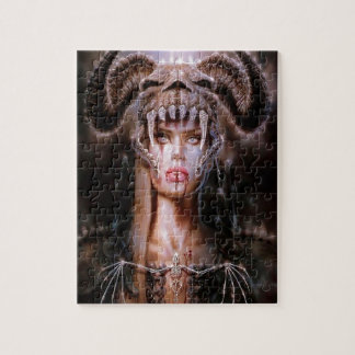 Abstract Fantasy Devils Daughter Reborn Jigsaw Puzzle