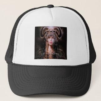 Abstract Fantasy Devils Daughter Reborn Trucker Hat