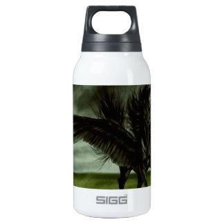 Abstract Fantasy Devils Horse Pegassus Insulated Water Bottle
