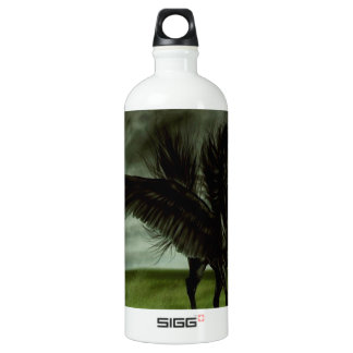Abstract Fantasy Devils Horse Pegassus Water Bottle