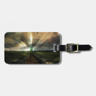 Abstract Fantasy Door To Nowhere Luggage Tag
