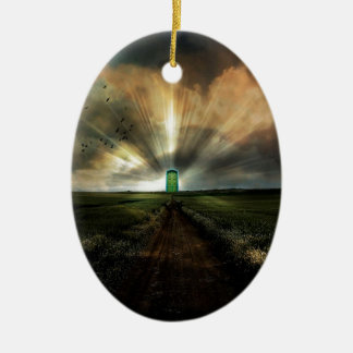 Abstract Fantasy Door To Nowhere Ornament