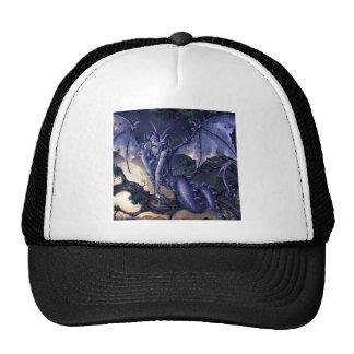 Abstract Fantasy Dragon Girl Flirt Trucker Hat