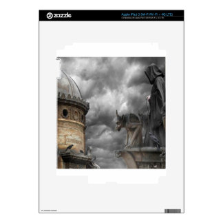Abstract Fantasy Evil Tower Of Spells Decals For iPad 3
