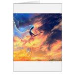 Abstract Fantasy Fantasy Spirits Card