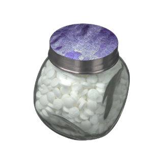 Abstract fantasy glass jars