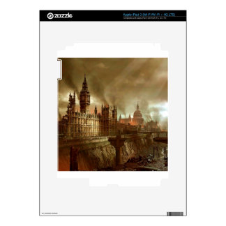 Abstract Fantasy London Aftermath Decals For iPad 3