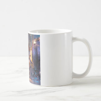 Abstract Fantasy Magical Extravaganza Classic White Coffee Mug