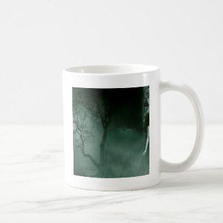 Abstract Fantasy Standing Alone Night Classic White Coffee Mug