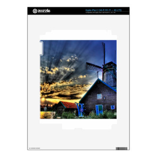 Abstract Fantasy Super Windmill View Decal For iPad 3