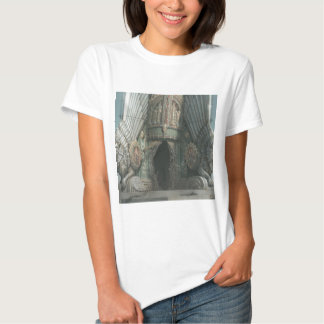 Abstract Fantasy Tower Of Two Tigers T-shirt